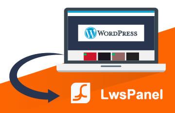 Comment installer WordPress sur LWS panel en 1clic ?