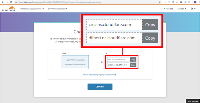 installer Cloudflare