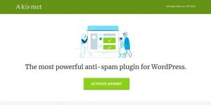 Plugin WP Akismet