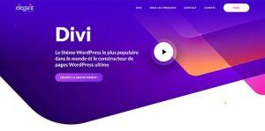Thème WordPress Divi