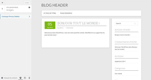 Widgets WordPress