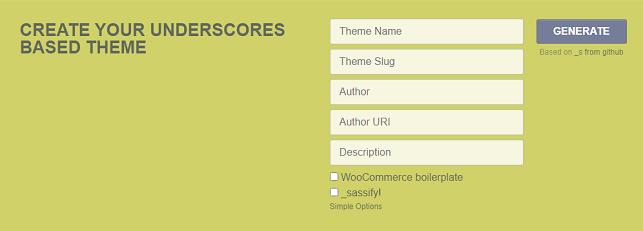 développer un thème WordPress