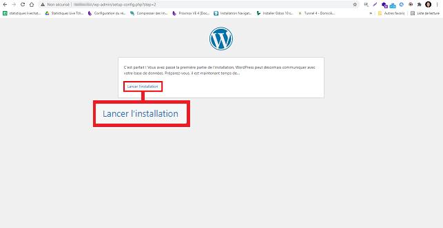 installer WordPress manuellement